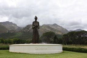 South Africa stone sculptures