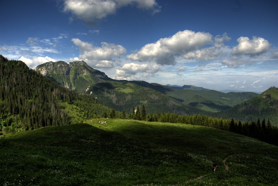 magnificent Tatry Poland Czerwone Wierchy landscape
