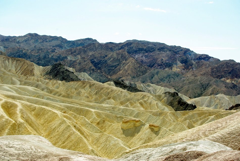 picturesque rocks at desert, Usa, california, death valley national park