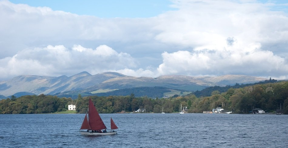 Landscape of lake district