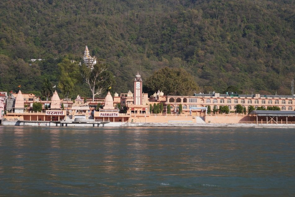 Temple in Rishikesh India