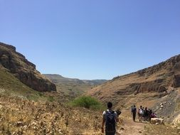 Valley Of The Sea Of Galilee