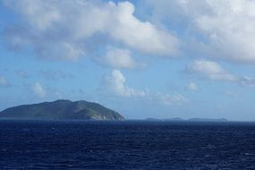 remote view of the british virgin islands
