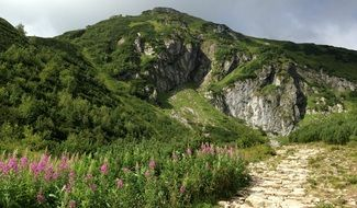 Tatry Mountains summer