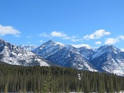 scenic rocky mountains