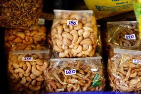 variety of nuts for sale