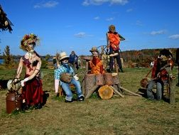 scarecrows in Minnesota