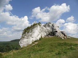 scenic rock in Poland