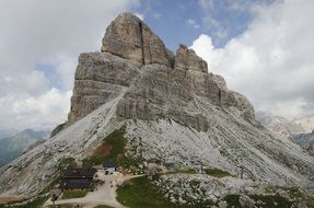 The Dolomites Mountains