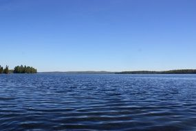 lake in algonquin provincial park