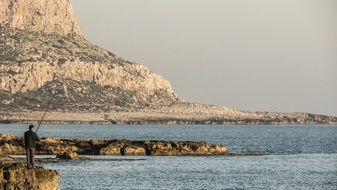 fisherman on the cape greco