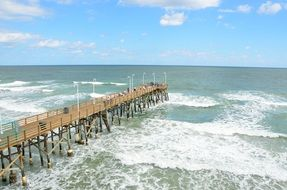 pier on the ocean in florida