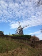 Holland Windmill, Netherlands