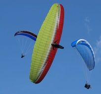Extreme Paragliding Sport