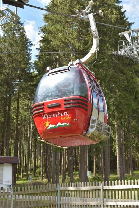 Cabin on a cable car, braunlage