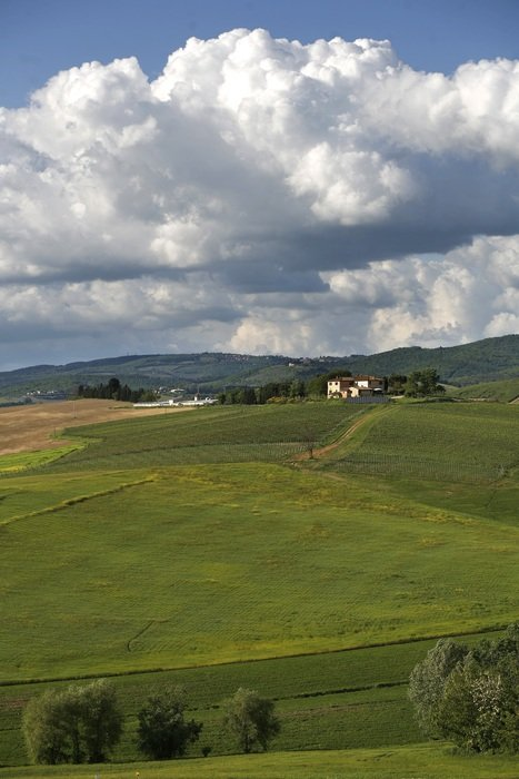 Beautiful landscape of Tuscany in Italy