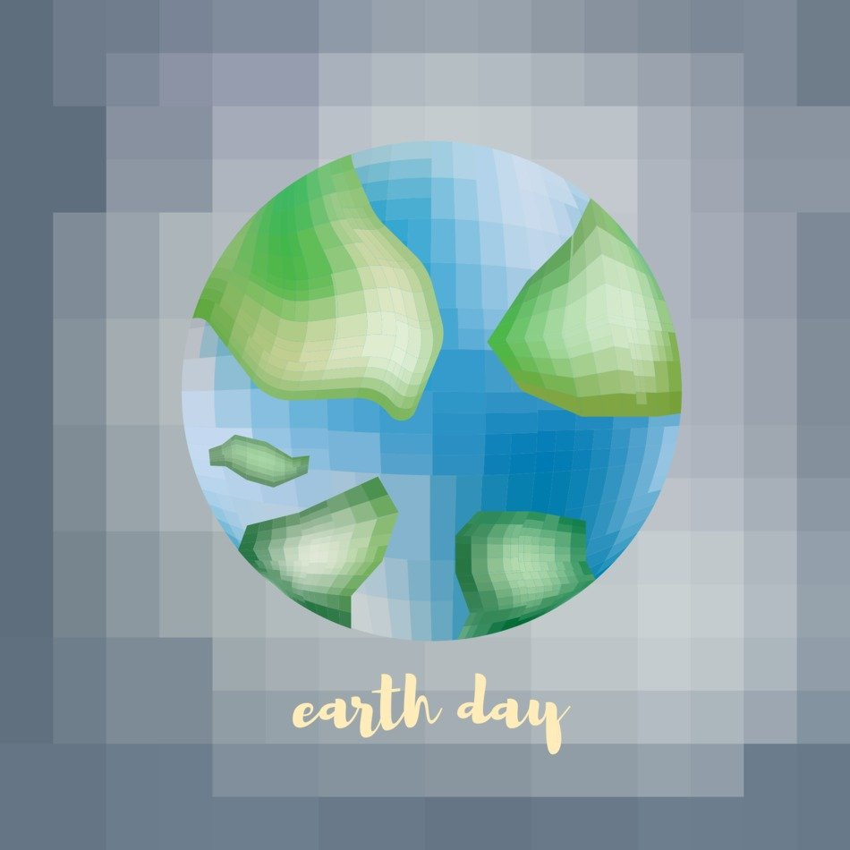 Earth Day Environment drawing