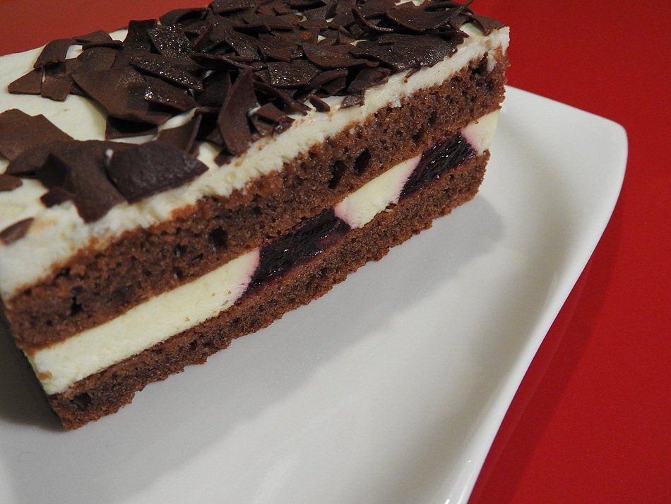 sweet black forest cake