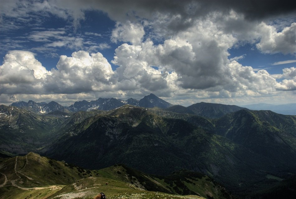 wonderful Tatry Poland landscape