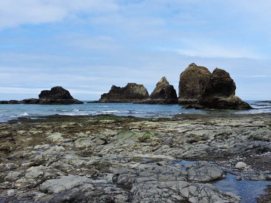 wonderful three arch rocks in Oregon