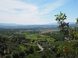 distant view of luberon