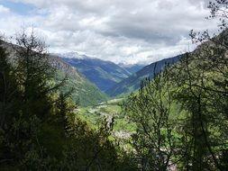 valley in the South Tyrol