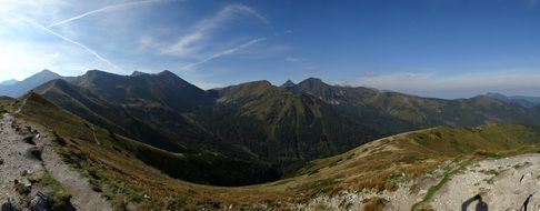 Tatry mountains of Poland national park