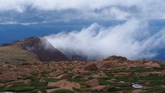 Pikes Peak is a Mountain in Colorado