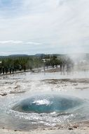 geyser as a miracle of nature