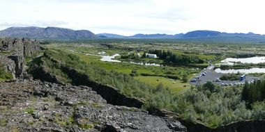 Iceland Thingvellir mountains
