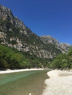 river canyon Verdon Gorge