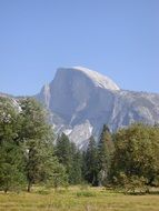 Half Dome Yosemite Valley