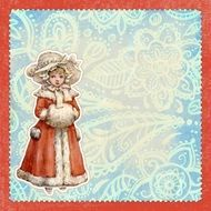 antique Vintage greeting card