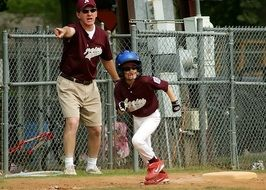 Competition Of The Little Baseball League