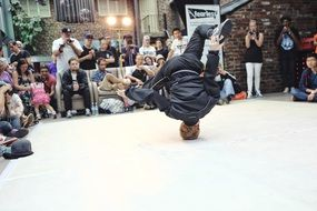 break dance as a contest