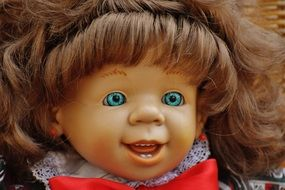 doll with open mouth