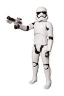 Storm trooper from the Star Wars