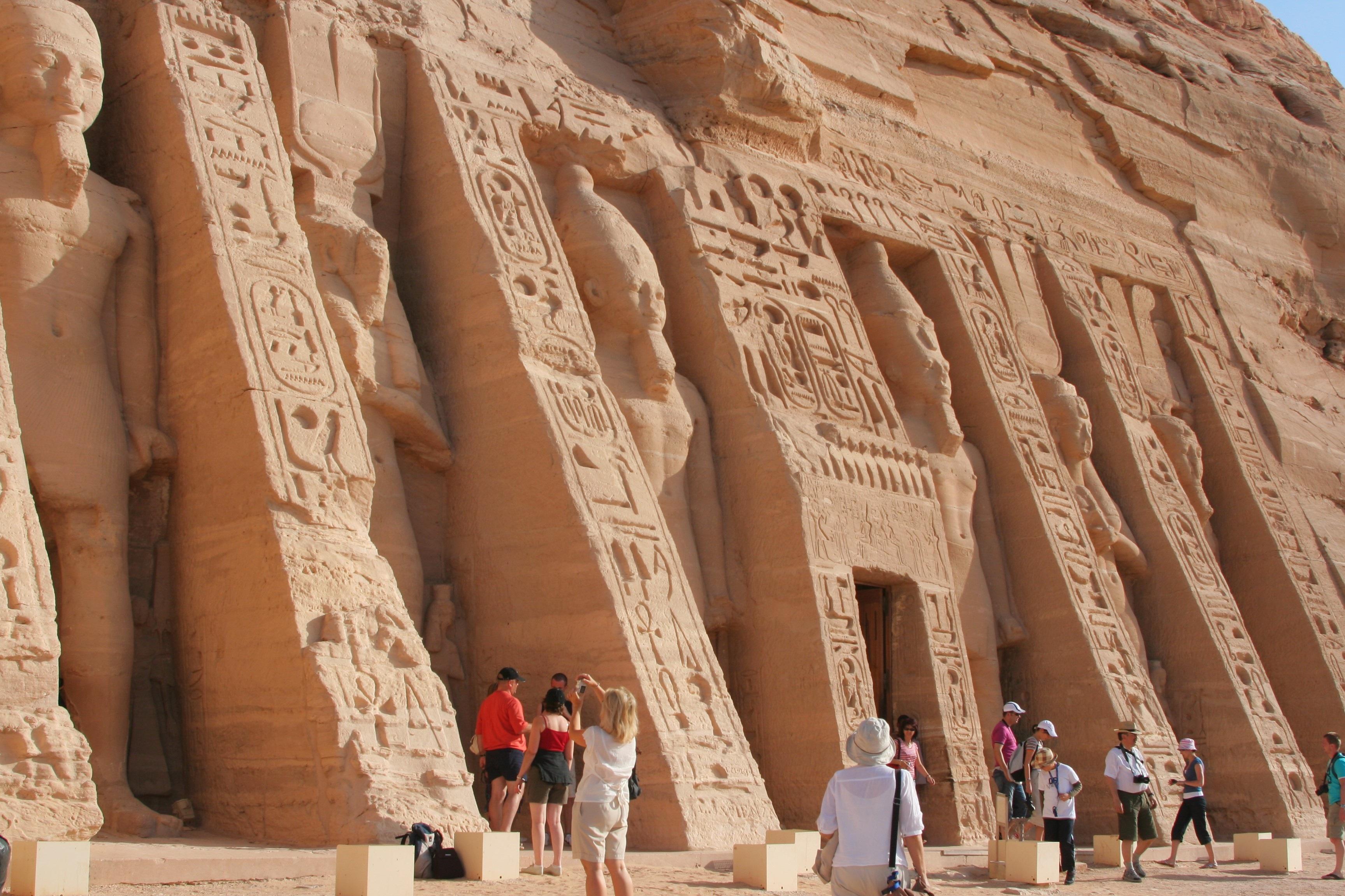 Abu Simbel, Near Aswan, Egypt без смс