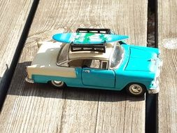 Car Toy with surf