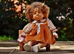 Doll toy Girl Cry