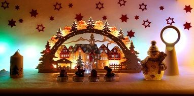 Christmas Candle Arches