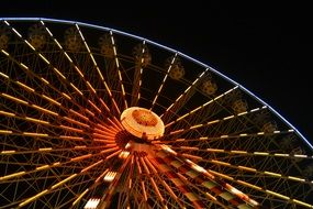 Beautiful colorful Big Wheel