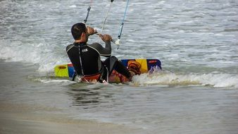 Kite Surf Man