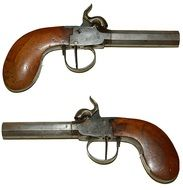 duel pistols of the 18th century