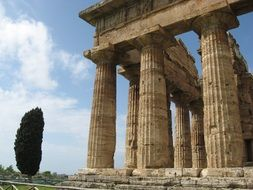 Paestum is a Greek colony