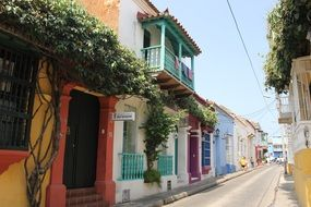 Cartagena Colombia Street