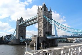 Tower Bridge as a landmark in London