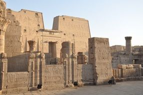 Egyptian temples as the main attraction