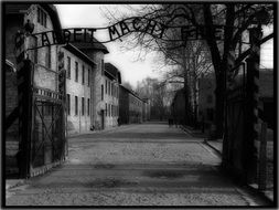 old picture of auschwitz concentration camp