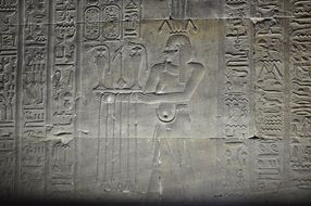 history of Egypt in hieroglyphs